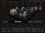 Cubemen Level Selection Screen