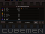 Cubemen Defense - Global Scores Ladder