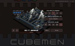 Cubemen Mayhem - Up to 6 player online games